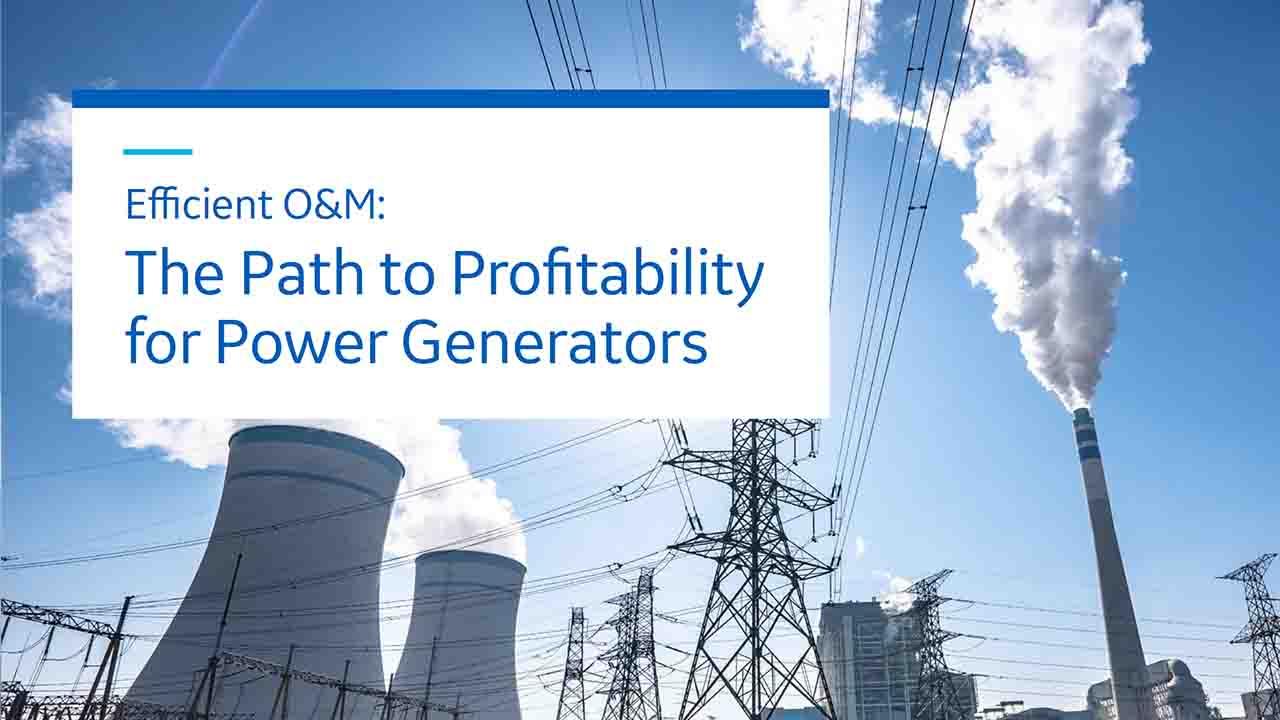 Path to Profitability for Power Generators   GE Digital white paper