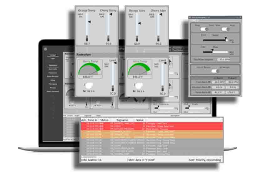 iFIX HMI/SCADA software from GE Digital | Secure by design software | screenshot