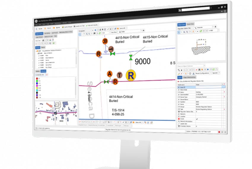 Model, manage and maintain compliancy for your entire gas T&D network infrastructure