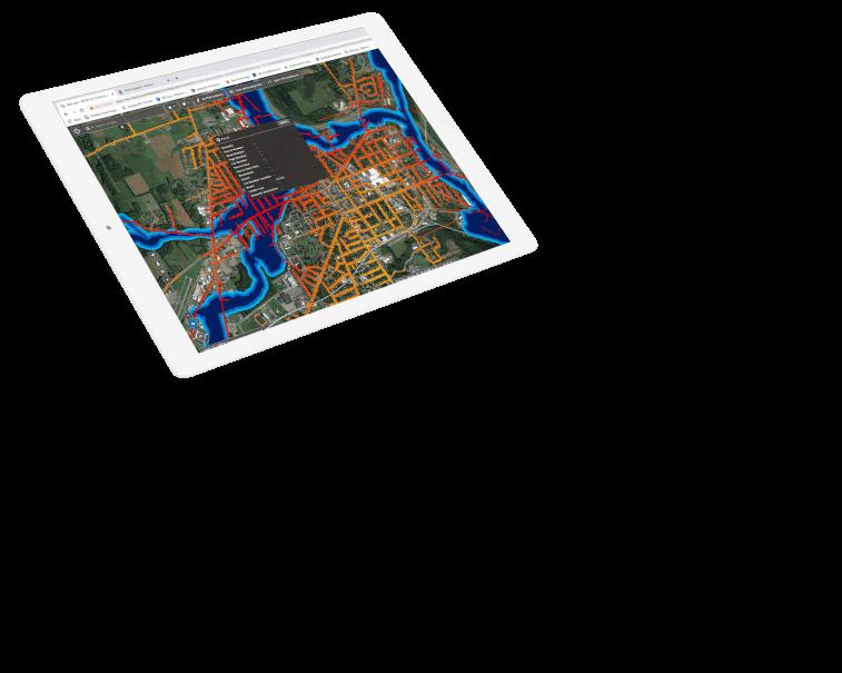 Geospatial information system screenshot | GE Digital | Smallworld GIS