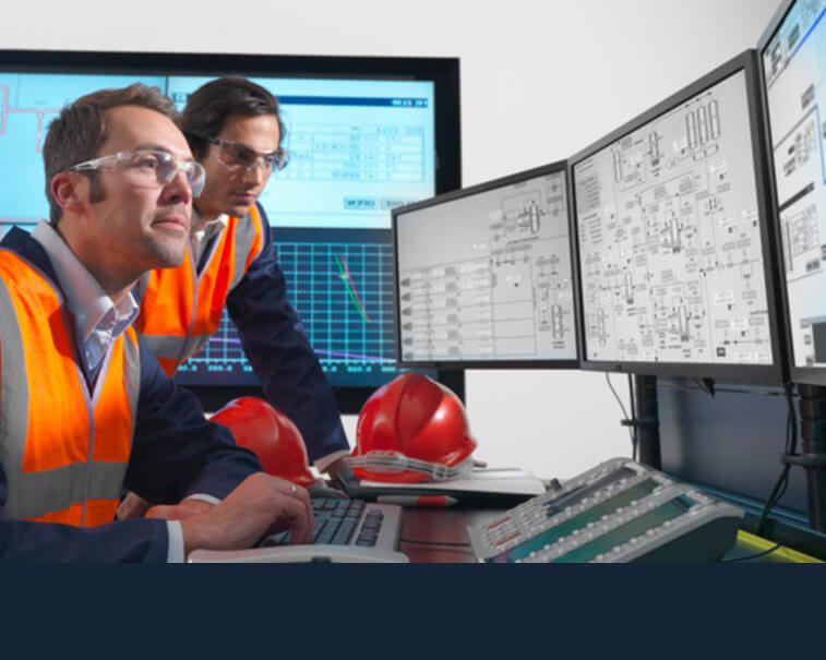 Software engineer using Predix Platform from GE DIgital