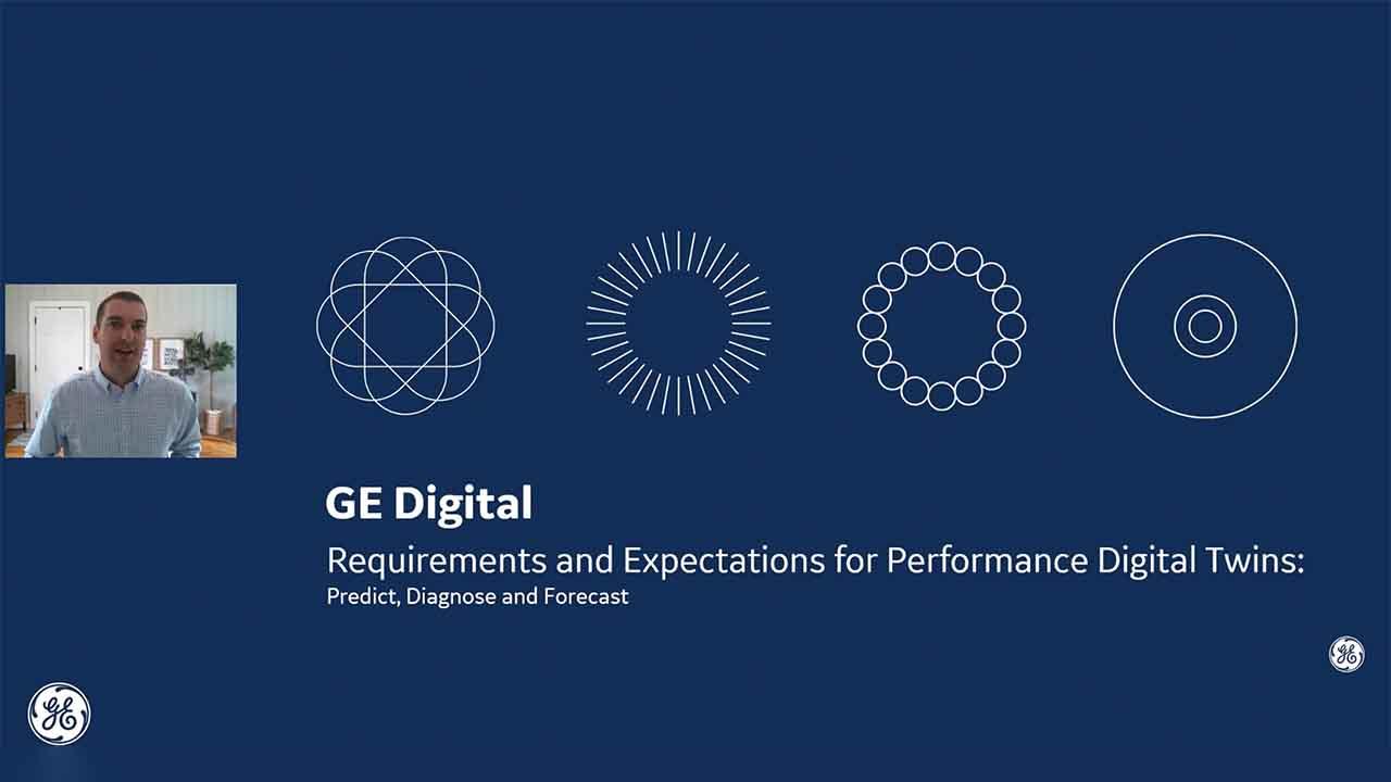 Performance Digital Twins webinar | GE Digital