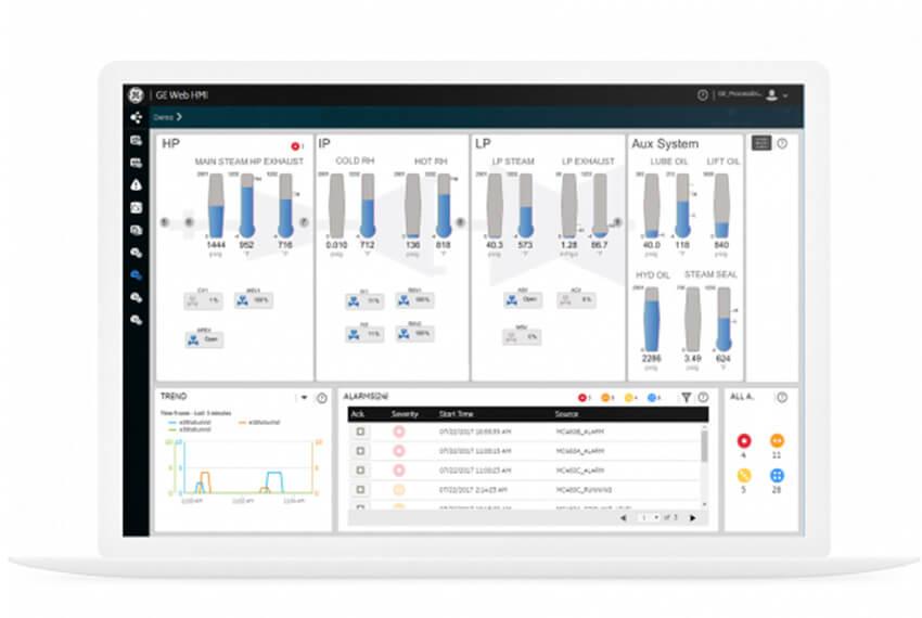 CIMPLICITY HMI/SCADA Provides Plant-Wide Visualization | screenshot