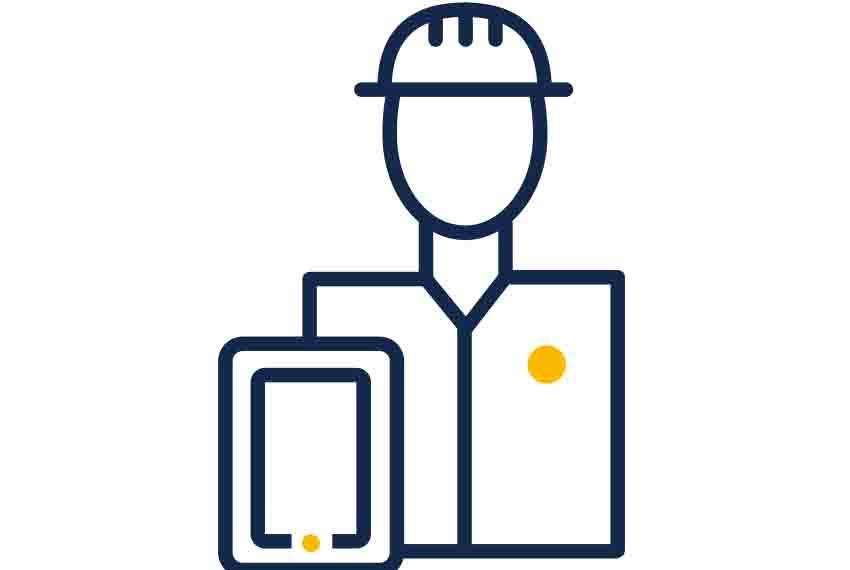 Engineer digital worker icon | GE Digital