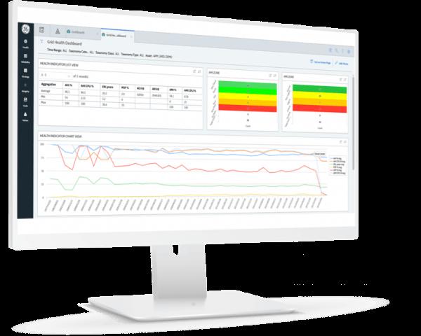 Asset Performance Management (APM) screen | GE Digital software