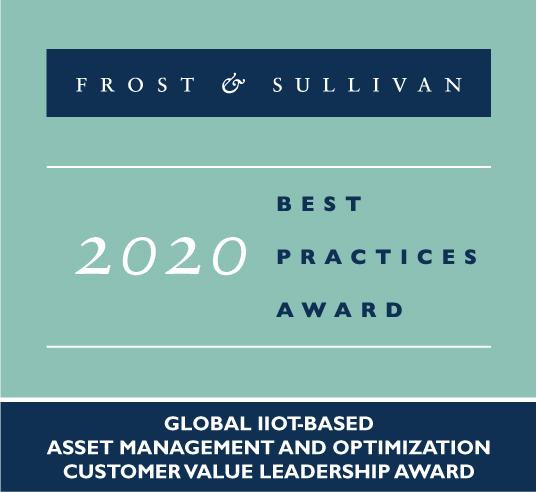 GE Digital Frost & Sullivan Award :  IIoT-based Asset Management