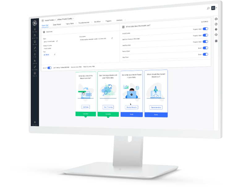 Proficy Operations Analytics | screenshot | Pre-built applications for analytics