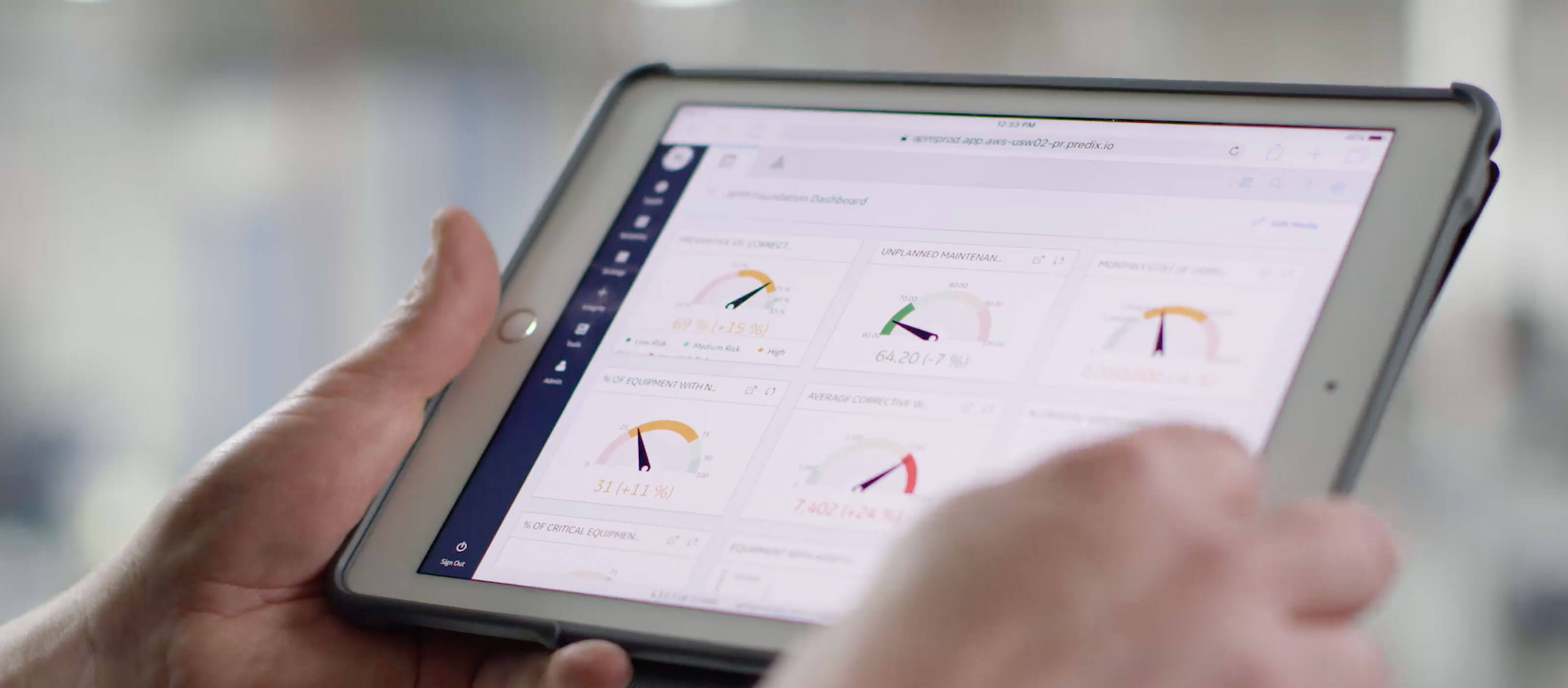 Predix APM software from GE Digital, screenshotPredix APM software from GE Digital, screenshot