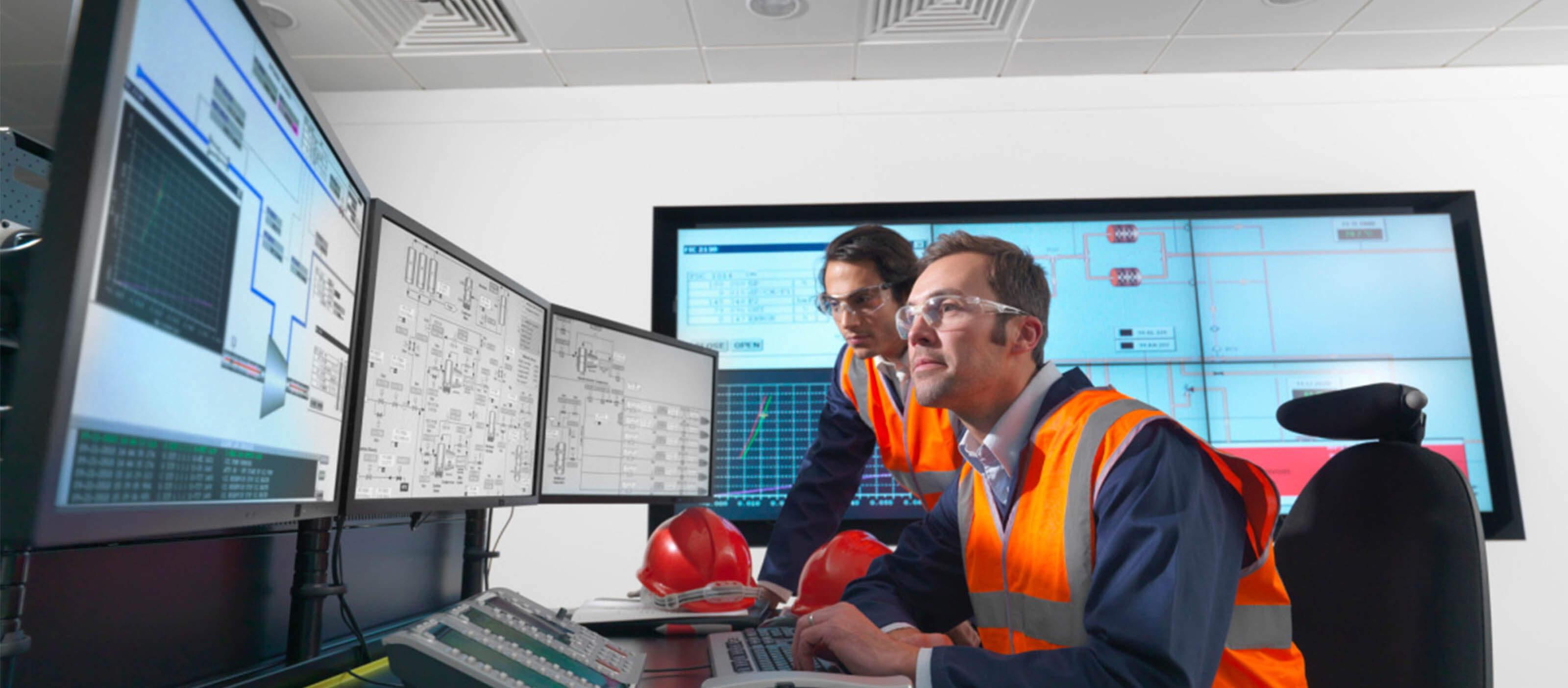 Control room with iFIX Productivity Tools | GE DigitalControl room with iFIX Productivity Tools | GE Digital