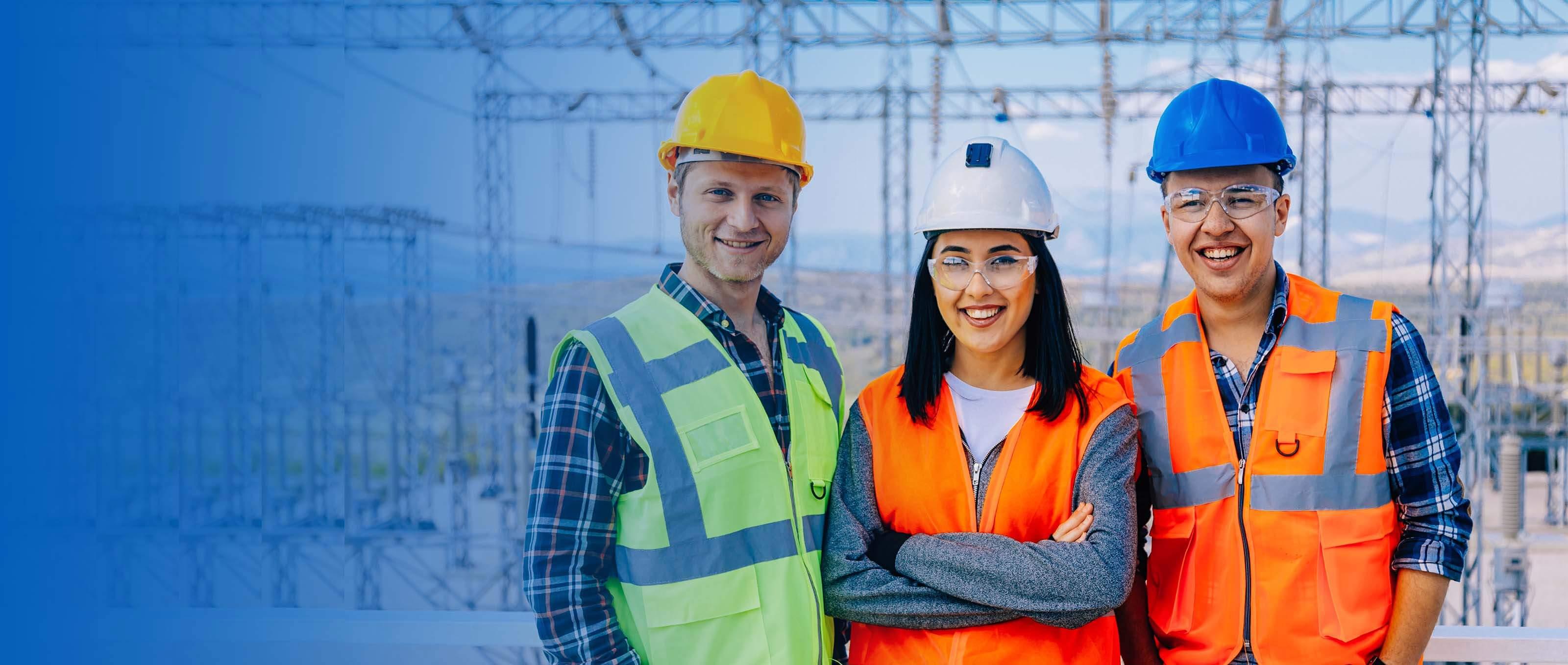 Engineers at power company | GE Digital Energy