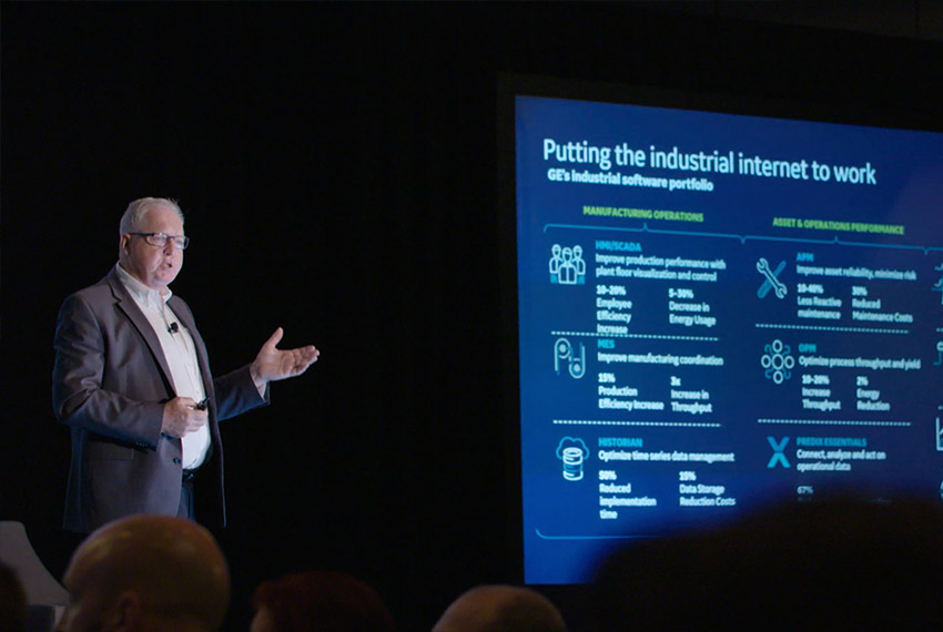 Speak at conferences and events with GE Digital