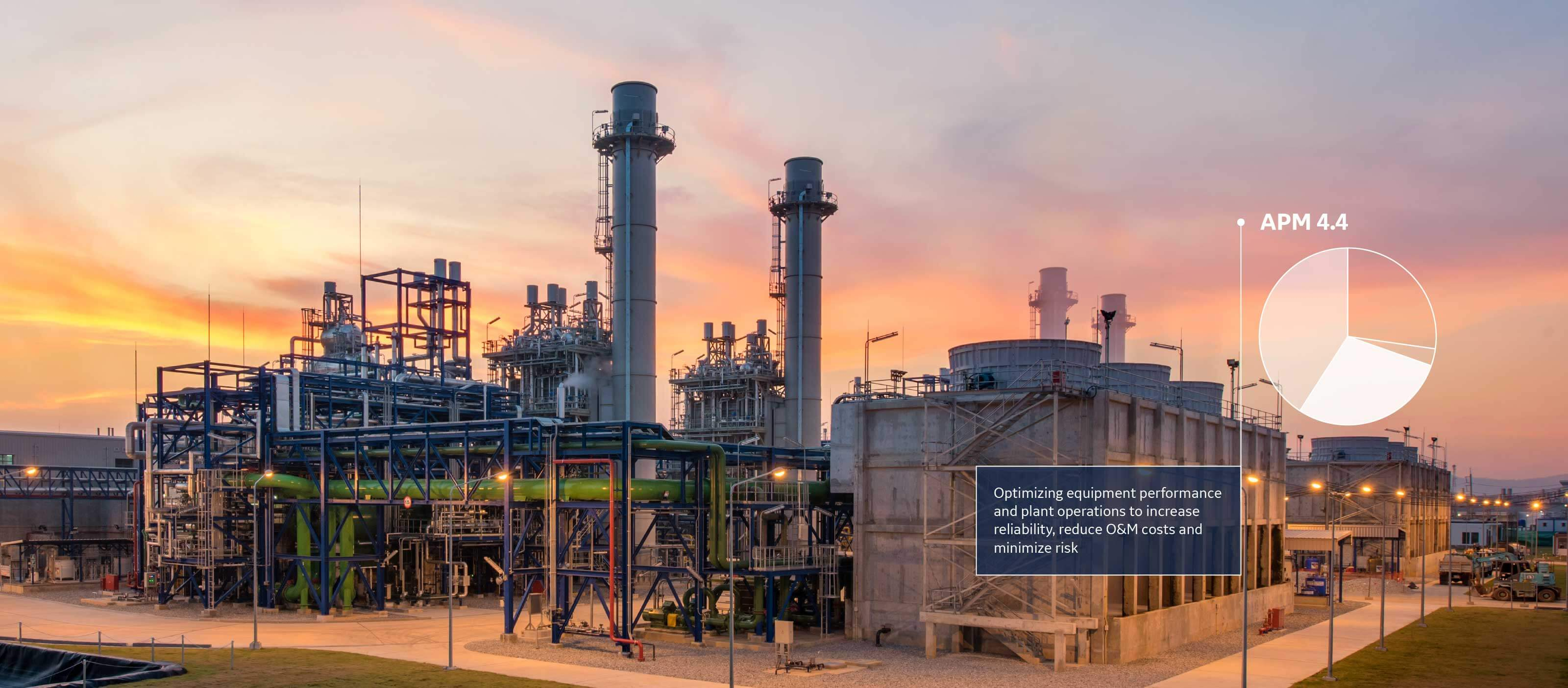 Asset Performance Management (APM) software from GE Digital helps the Oil & Gas industry maintain performance