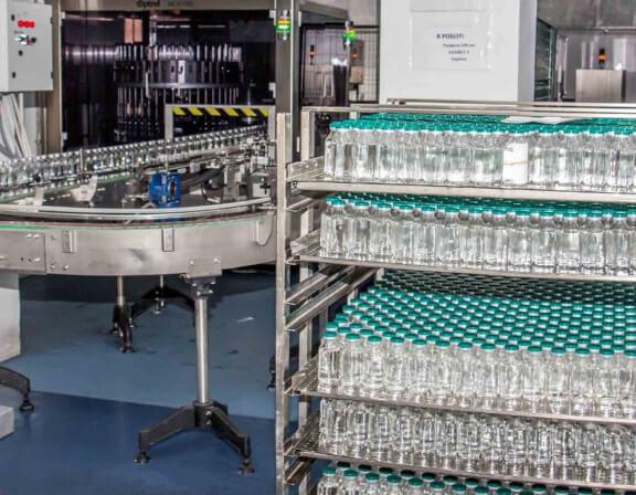 Packaging line at Yuria-Pharm | GE Digital customer storyPackaging line at Yuria-Pharm | GE Digital customer story