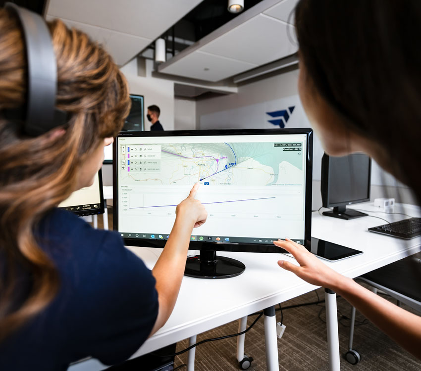 Software from GE Digital helps aviation companies optimize flights and fuel consumption