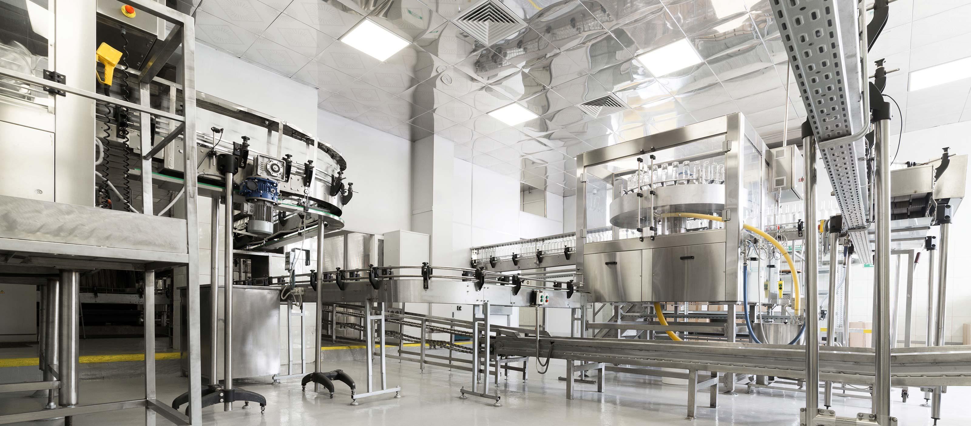 Bottling plant using GE Digital's asset performance management software