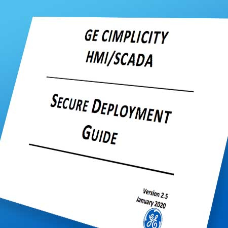 CIMPLICITY secure deployment guide | GE Digital | HMI/SCADA