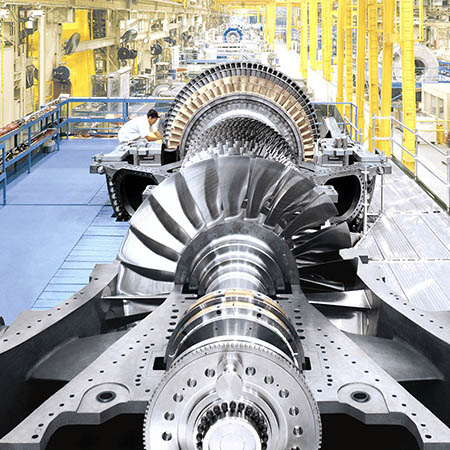 GE Digital MES software | turbine production