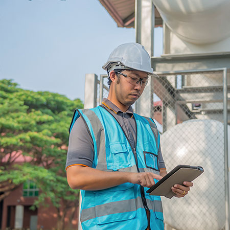 Remote access for utilities engineer provided by GE Digital software
