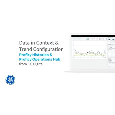 Data in Context & Trend ConfigurationProficy Historian &  Proficy Operations Hub