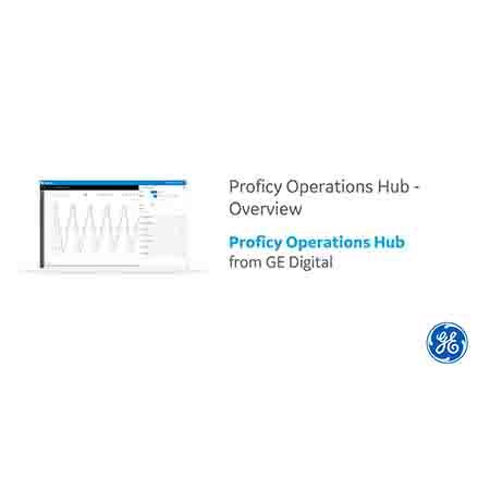 Proficy Operations Hub Overview Video | GE Digital