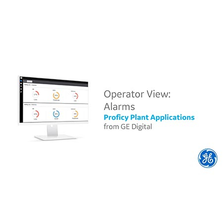 Proficy Plant Applications: Operator View - Alarms