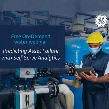 GE Digital and AWWA webinar on Predicting Asset Failure