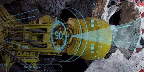 Mining illustration of predictive analytic capabilities of GE Digital's industrial apps