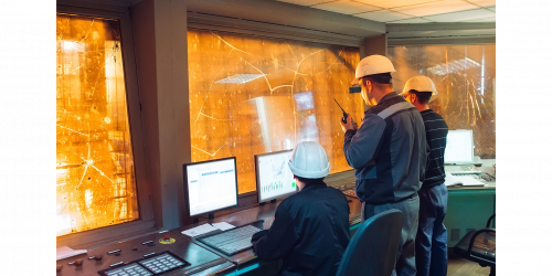 Industrial control center using GE Digital's Predix apps for predictive maintenance