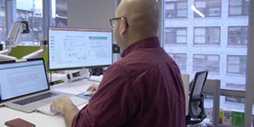 Industrial app programmer using Predix Platform by GE Digital