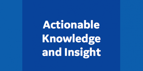 Actionable knowledge | Data Science | GE Digital