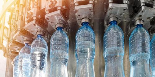 Bottling (F-B) manufacturing managed by GE Digital MES software
