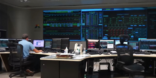 Utility network control center | GE Energy Solutions