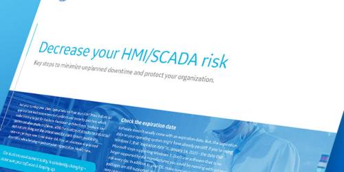 Decrease Your HMI/SCADA Risk   GE Digital   White paper thumbnail