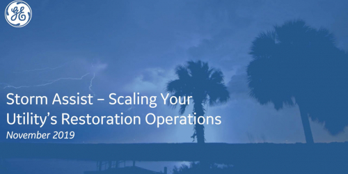 Storm response software for utilities | GE