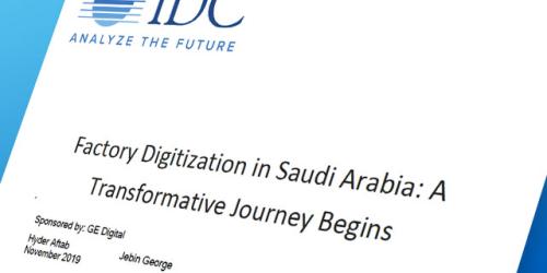 Factory Digitization in Saudi Arabia   IDC