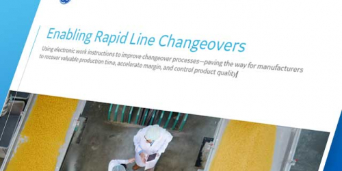 Enabling rapid manufacturing line changeovers | GE Digital whitepaper