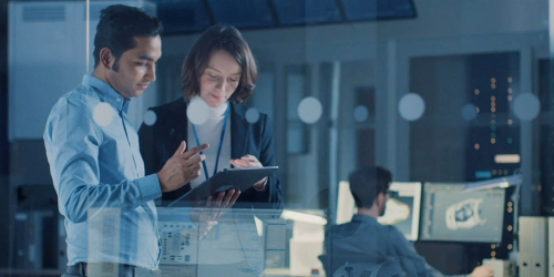 Visit a GE Digital Industrial Managed Services Center to learn about digital twins