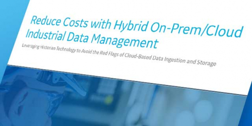 Reduce costs with hybrid on-prem/cloud industrial data management | GE Digital