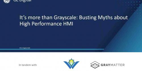 AWWA Webinar: Busting High Performance HMI Myths | GE Digital