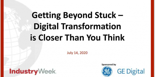 Webinar: Digital Transformation is closer than you think