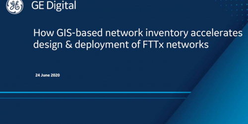 How GIS-based network inventory accelerates design and deployment of FTTx networks