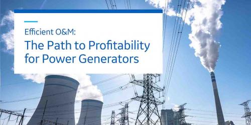 Path to Profitability for Power Generators | GE Digital white paper