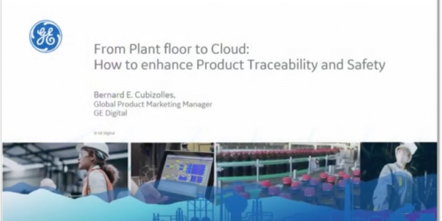 From Plant Floor to the Cloud: GE Digital MES solutions webinar