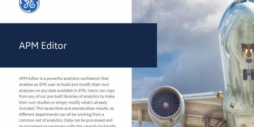 Flight Analytics, Event Measurement System, APM Editor | GE Digital Aviation Software