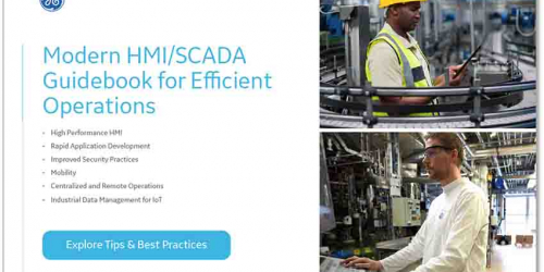 Modern HMI/SCADA Guidebook for Efficient Operations from GE Digital