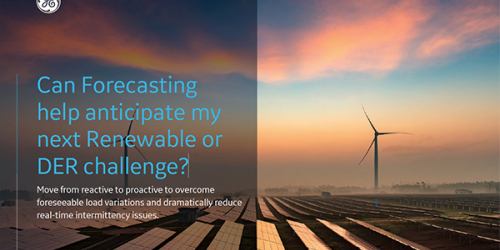 Forecasting for ADMS and AEMS | GE Digital white paper