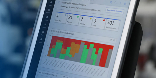 Asset performance management software on mobile device | GE Digital screenshot