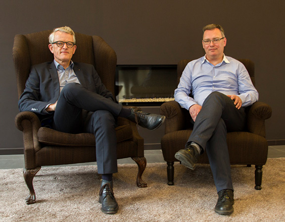 Johan Gebruers, Managing Director, and Koen van Hooft, Chief Operations Officer, Royal Agio Cigars