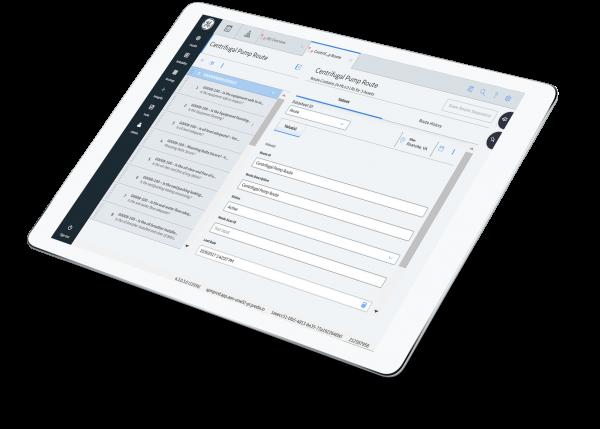 GE Digital software, APM Health screenshot, collecting field data screenshot