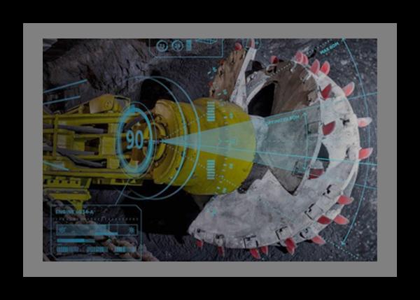 Mining illustration showing analytics and machine learning capabilities of Predix Platform